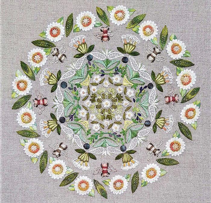 Mandala floral 3ème partie